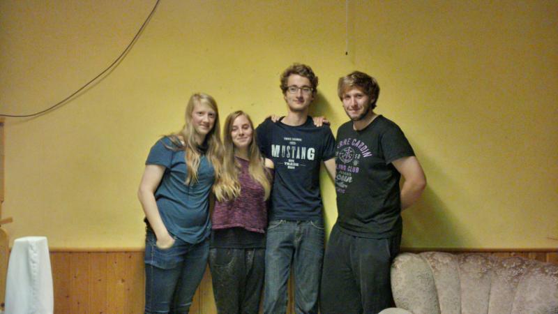 Karin Schwemmer (Kasse), Ines Birkel (Jugendleiterin), Dennis Fink (Jugendleiter), Rico Schiller (Jugendleiter)