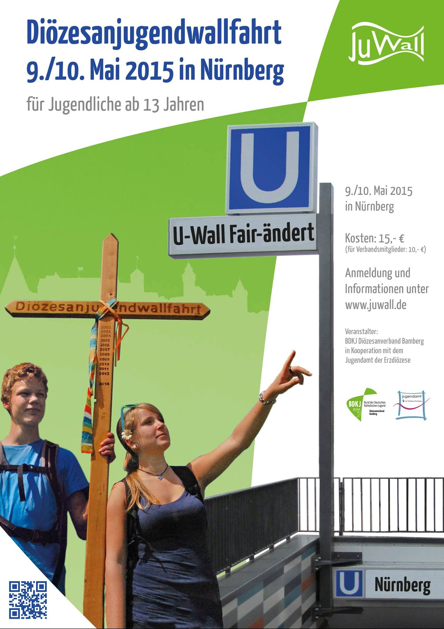 """Diözesanjugendwallfahrt """"U-Wall Fair-ändert"""""""