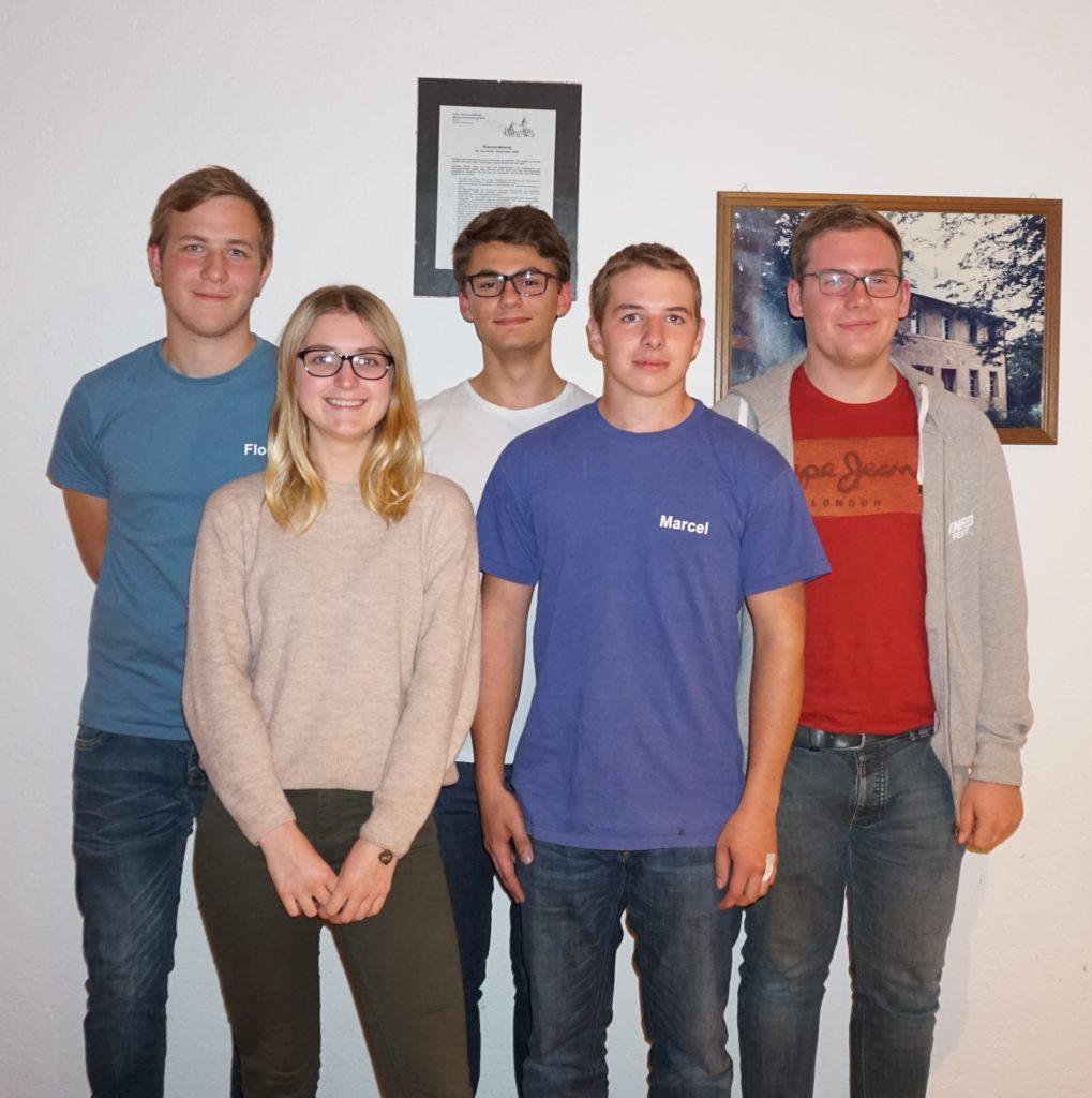 Die Jugendleitung 2019/2020